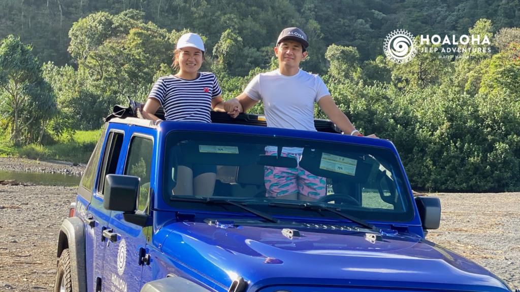 local guide on maui hoaloha jeep adventures