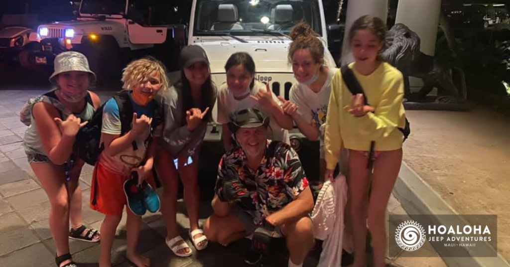 Things to do in Maui with Kids hoaloha jeep adventures